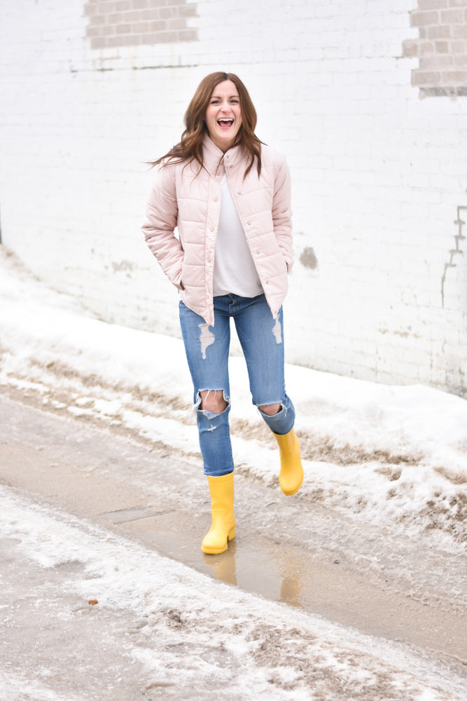 The Scala Puffer-Blush