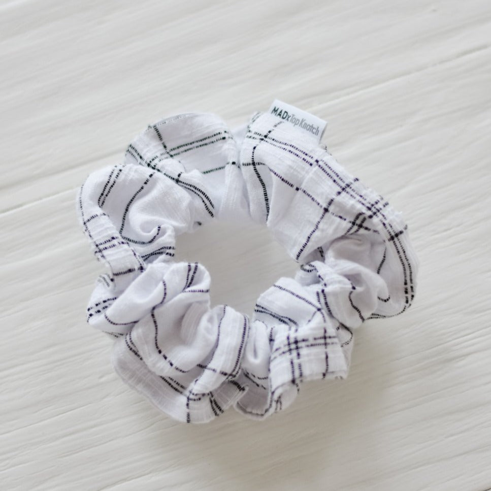 Windowpane Scrunchie