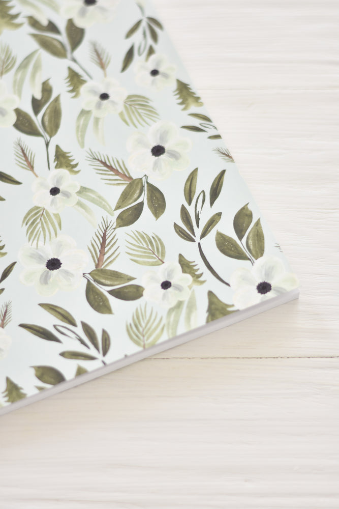 REB x MAD Mint Floral Notebook