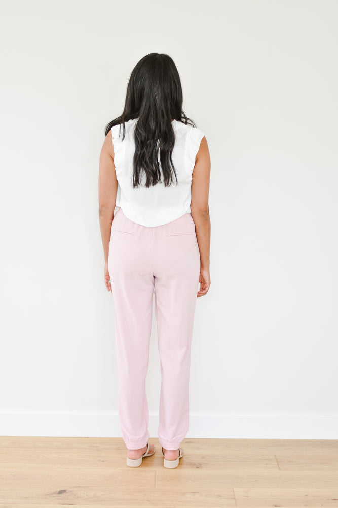 The Kelsey Pink Trouser