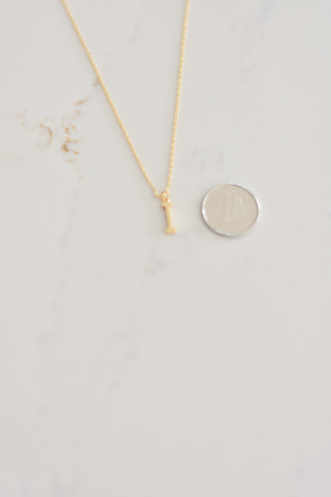 Initial Necklace - I