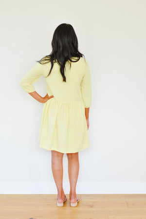 The Chelsea Yellow Babydoll