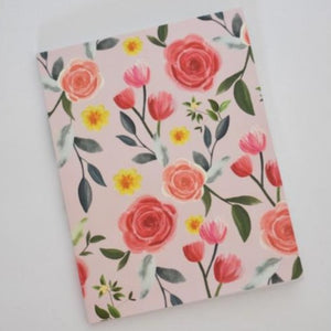 Rose Floral Notebook