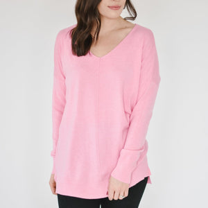 V-Neck Dreamers-Bubblegum