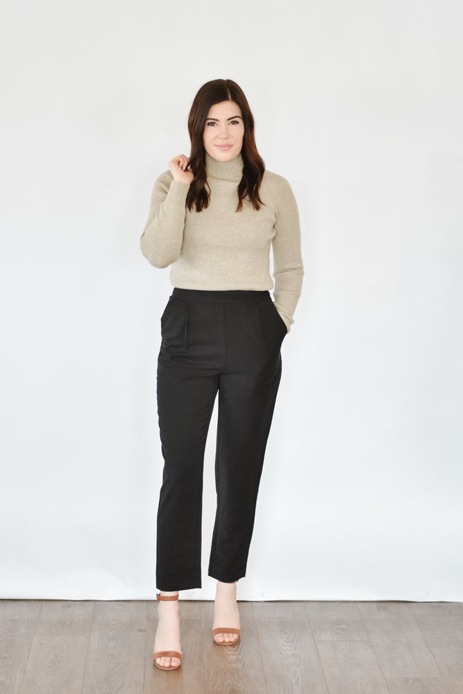Black Dart Trouser
