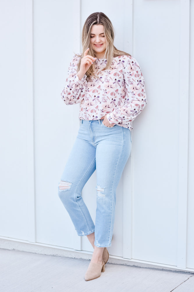 The Tami Floral Blouse