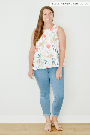 The Robin Floral Blouse