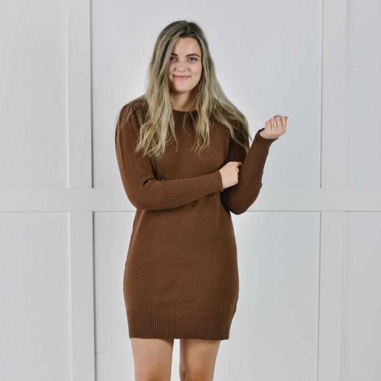 French Roast Sweater Dress