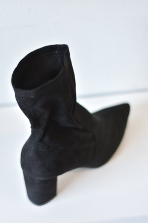 Amiya Sock Boot (Black)