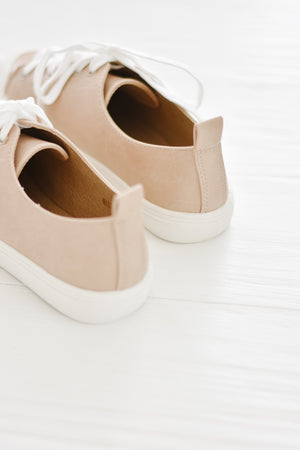 Maxine Sneaker-Taupe