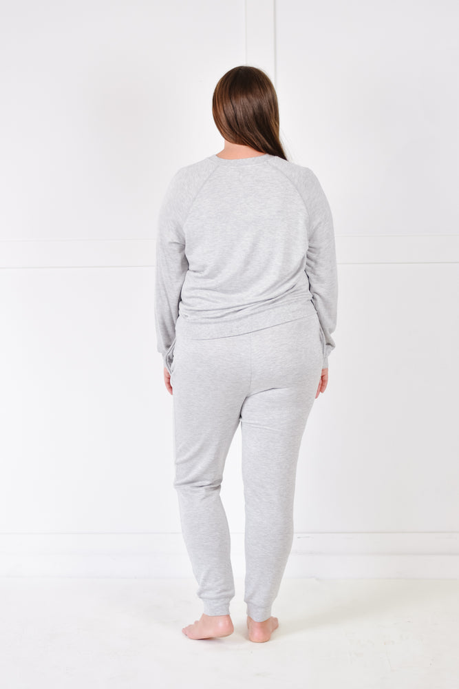 Jacey Fleece Jogger (Storm)