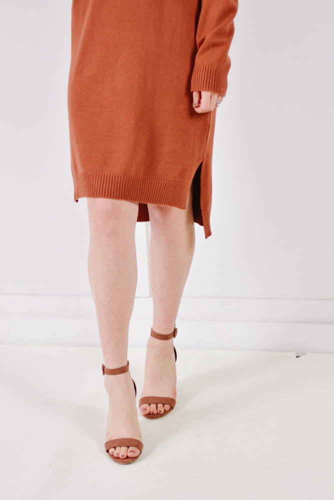 Honey Ginger Sweater Dress
