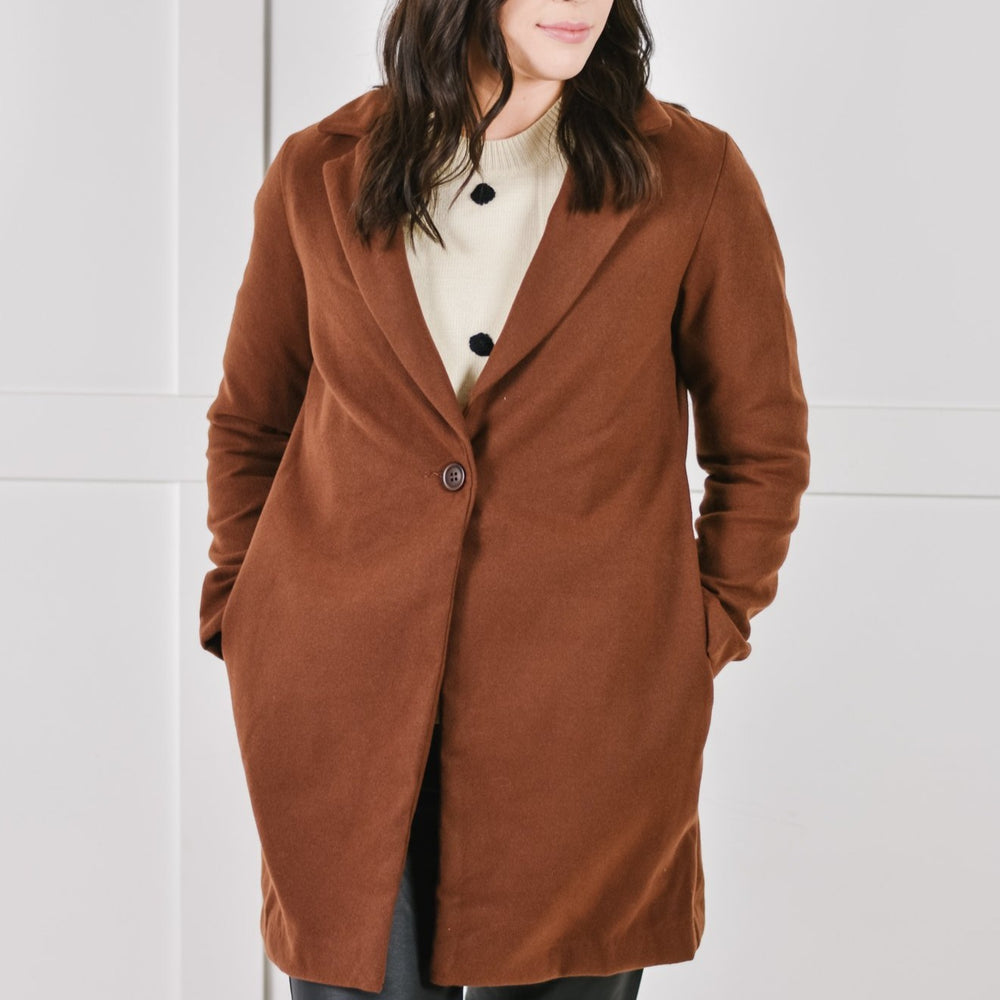Chocolate Brown Coat