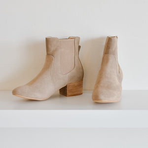 Holly Suede Boot (Taupe)