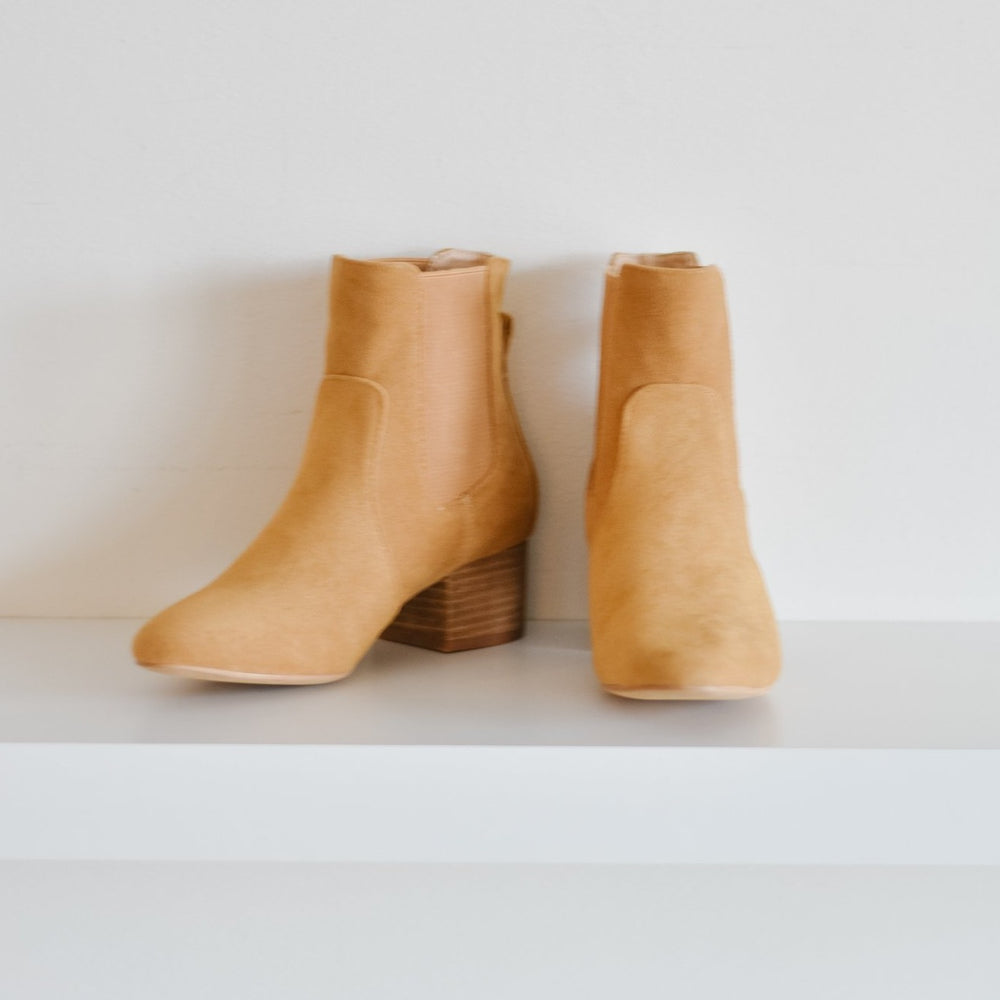 Holly Suede Boot (Camel)
