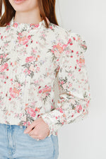 Rose Garden Pleat Blouse