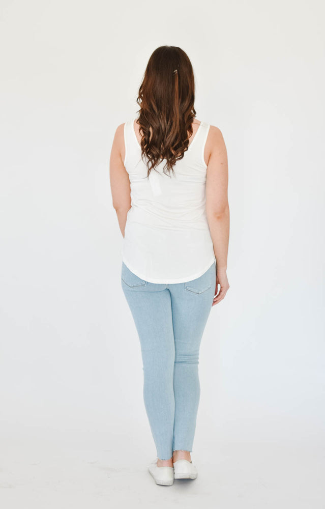 Emma's Scoop Tank (White)