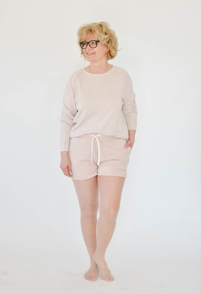 Unwind Shorts (Dusty Pink)