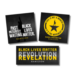 HAMILTON x BLM Sticker Set