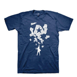 HAMILTON Exhibition Blue Logo Tee