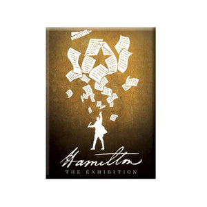 HAMILTON Exhibition Papers Magnet