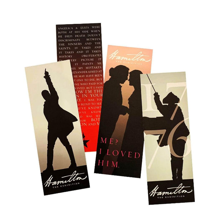 HAMILTON Exhibition Bookmark Set