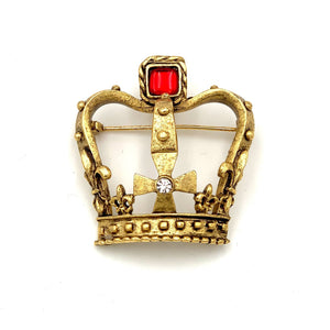 HAMILTON KING GEORGE III CROWN PIN