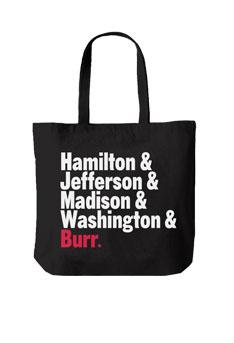 HAMILTON Names Tote Bag