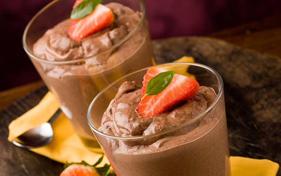 Chocolate Chia Protein Pudding