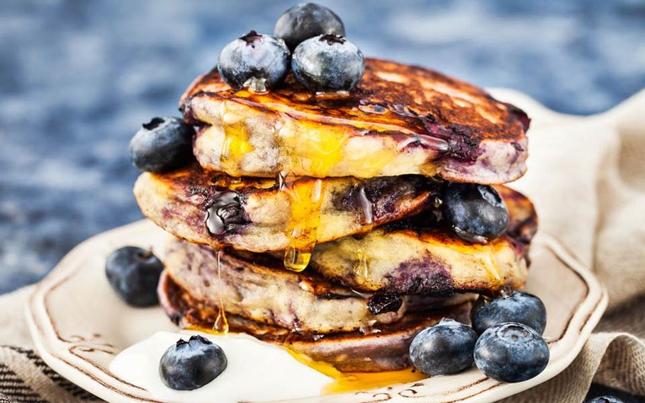 Blueberry Protein Pancakes Recipe