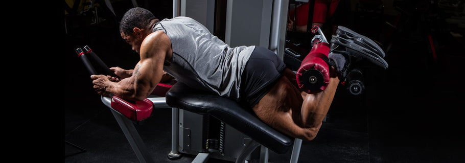 Hammer Your Hamstrings With Hanging Dumbbell Leg Curls