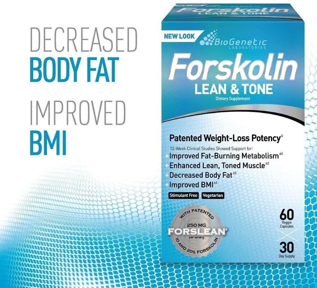 Forskolin Lean & Tone™ Weight Loss Pills