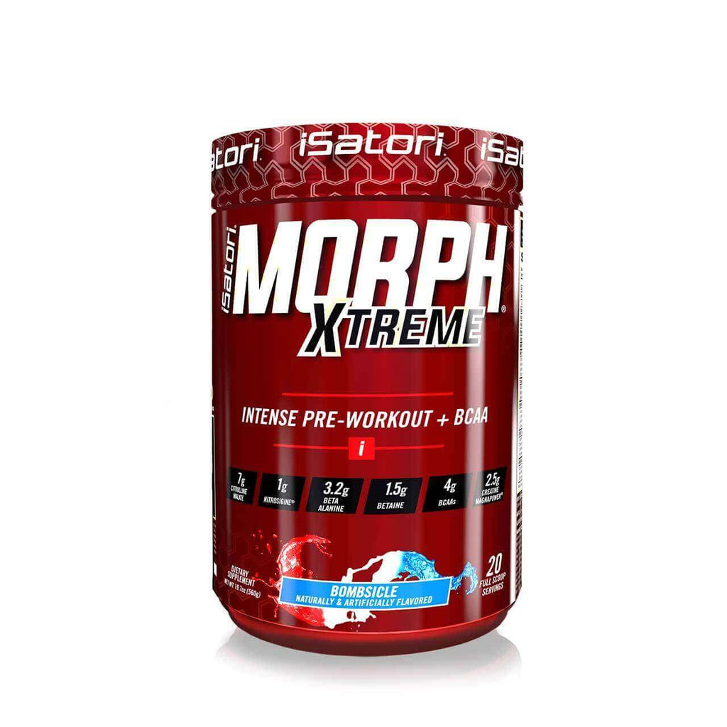 MORPH® XTREME Pre-Workout and BCAAs