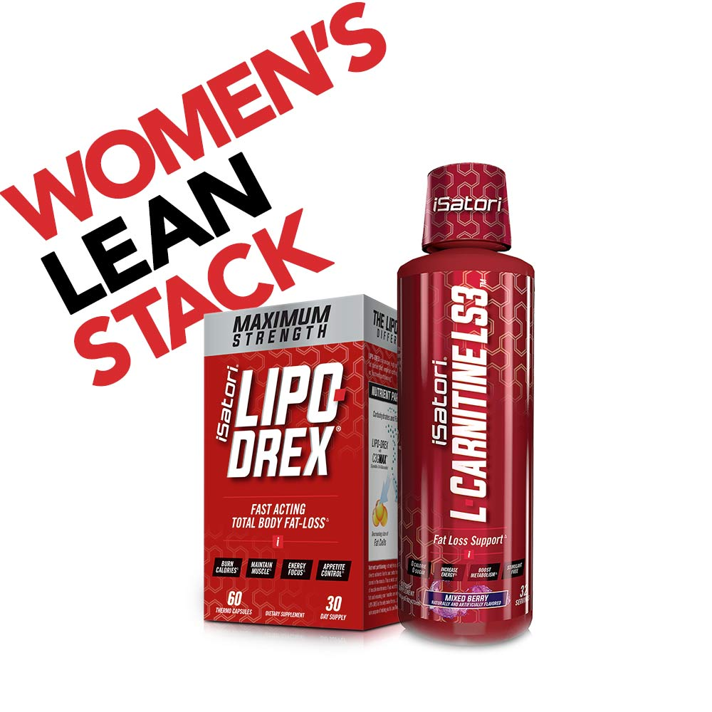 Women's Lean Stack Workout Supplements