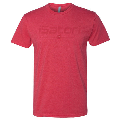iSatori Tonal Logo Workout T-Shirt, Red
