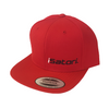 iSatori Snapback Cap, Red Small Logo