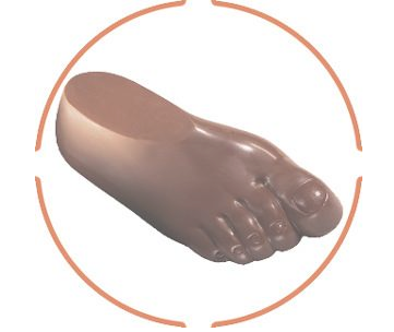 10oz chocolate foot