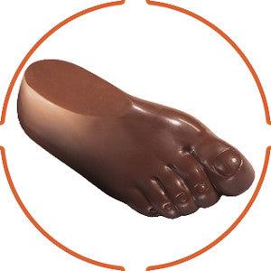 10 oz. Chocolate Foot