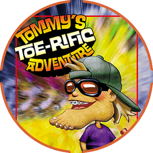 cover for Tommy's Toe-Rific Adventure children's book