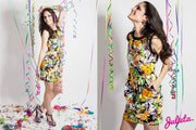 Vestido Tulipa Floral multi color