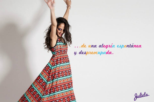 Maxi Zigzag y rombos multi color