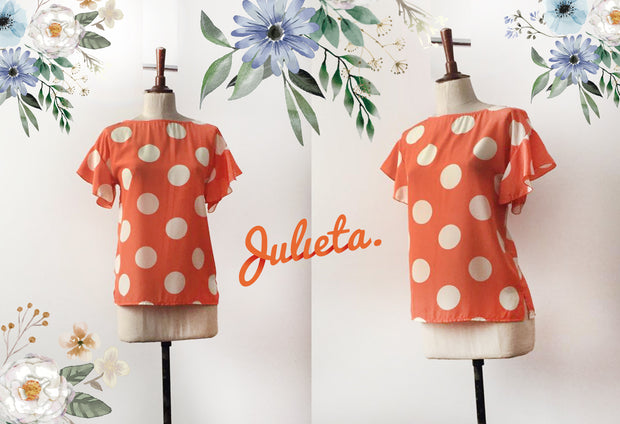 Blusa MV Dots Julieta Shop