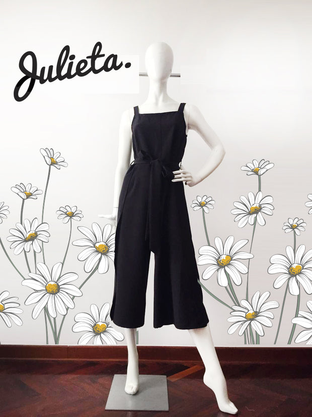Enterizo Midi Black Julieta Shop
