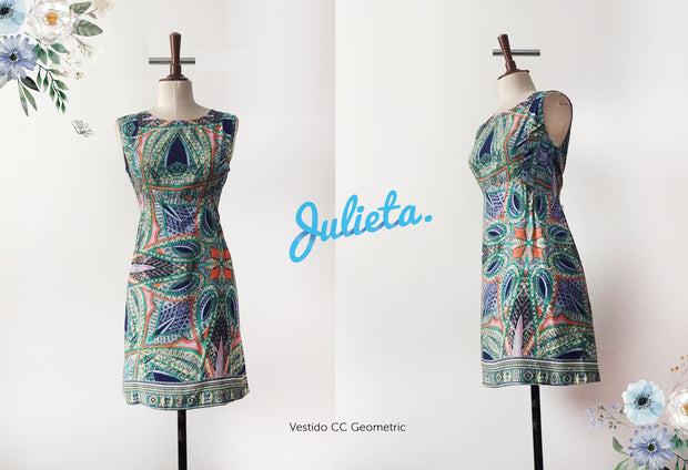 Vestido CC Geometric Julieta Shop