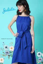 Vestido PC Azulino Julieta Shop