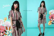 Vestido Neru Stripes Julieta Shop