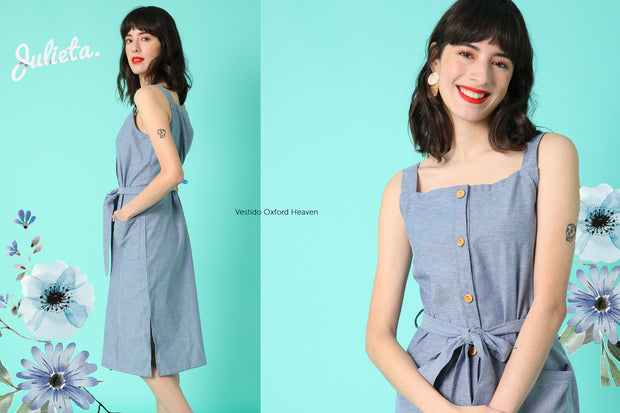 Vestido Oxford Heaven Julieta Shop