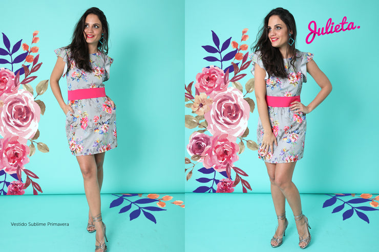 Vestido Sublime Primavera Julieta Shop