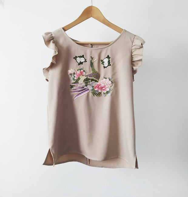 Blusa Ave Nude