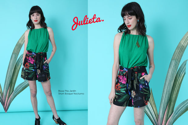 Short Bosque Nocturno Julieta Shop